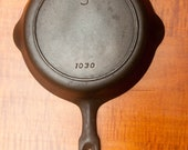 Nice Unmarked Griswold quot Iron Mountain quot No. 5 Skillet With Heat Ring P N 1030
