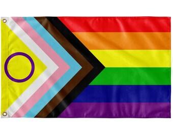 Flag of inclusive progress