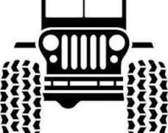 Jeep Christmas Svg Etsy