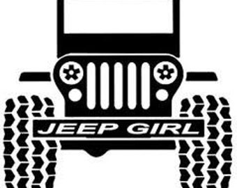 Jeep Girl Svg Etsy