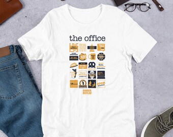 9b97778db The Office Quote Mash-Up Funny T-Shirt - NBC Universal Official Tee -  Short-Sleeve Unisex T-Shirt