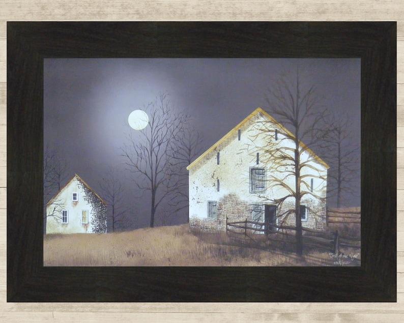 Bucks County Red Farm Winter Silo Canvas Decor Billy Jacobs Barn Farm Small