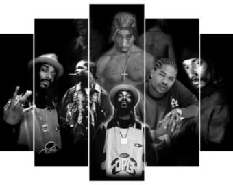 WALL ART PRINT POSTER A3 Size Gangsta rap GIFT 50 CENT CURTIS Hip hop music