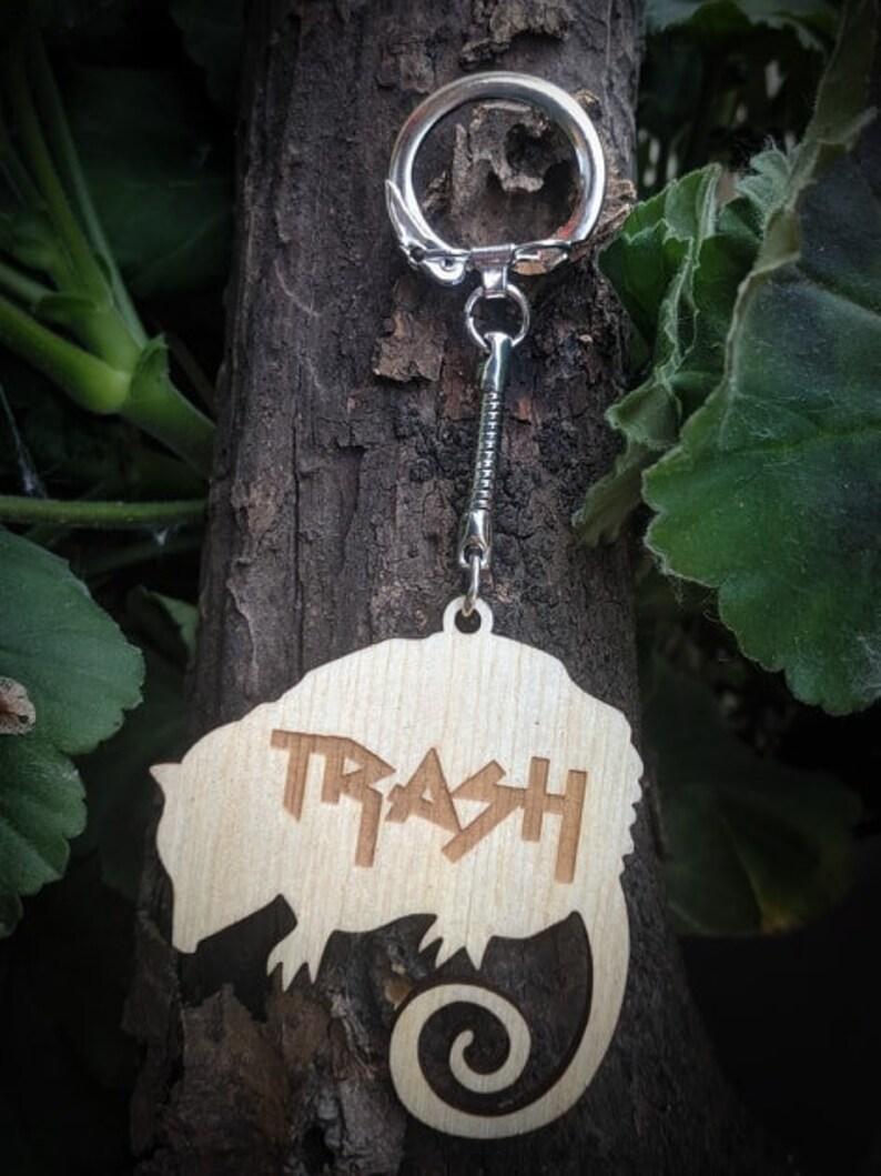 Trash Possum Keychain