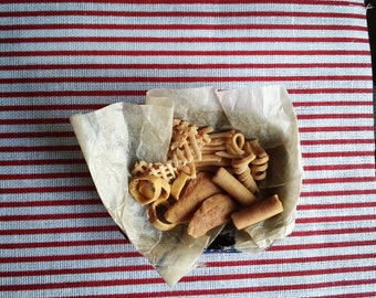 Kitchen Food Miniature Box of Pasta Salad for Barbie Doll 1:6