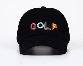 c5ad9306 Golf Wang 2018 Dad Golf Hat Tyler The Creator Snapback Black Tactical Baseball  Golf Cap Dad Hat Sun Hat