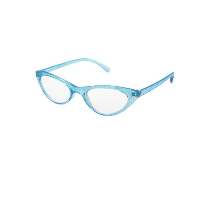 Blue Vintage Lunettes Cat Eye Style Reading Glasses