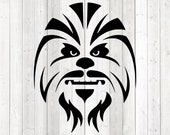Big, hairy beast from the star series. Vector cutting file for Silhouette Cameo and Cricut; SVG, Studio3, PNG + EPS.