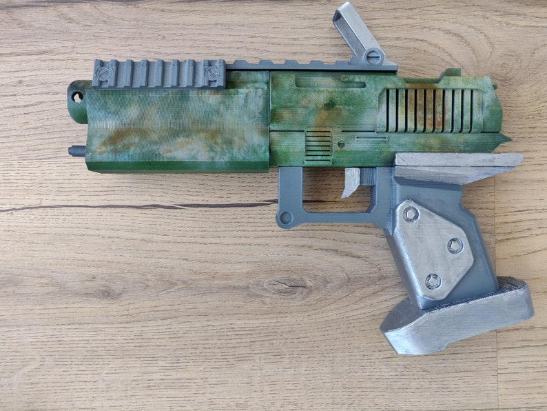 Borderlands DAHl Gun 3D Printed Full Scale Prop Toy
