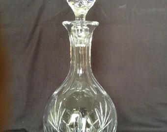 Glaskaraffe Whisky-Karaffe Schmuckflasche Flasche PICCADILLY 0,8 Liter