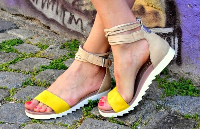 Summer  genuine leather greek roman sandals peep toe belt sandals flat sandals zip close behind greek roman gladiator sandals