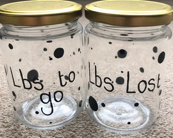 Weight loss motivation Pounds for Lbs Money Box Personalised Pounds for Lbs Jar Personalised weight loss money Box