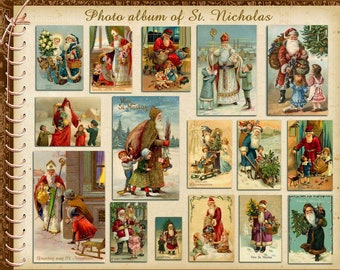 Puzzle Album of St. Nicholas the Wonderworker On Christmas For children Saint Nicholas Puzzle 250 300 500 Pieces boardgame gift