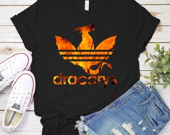 dc78bd6a Dracarys Shirt Floral Game Of Thrones Mother Of Dragons Khaleesi Shirt  Flowers Dragon Fire Game of thrones gift Dragon Shirt Unisex Women