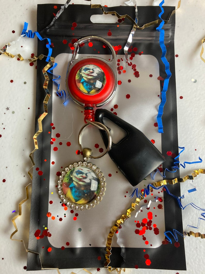 Jokster Smoker Keychain Smoker Gift Retractable Leash