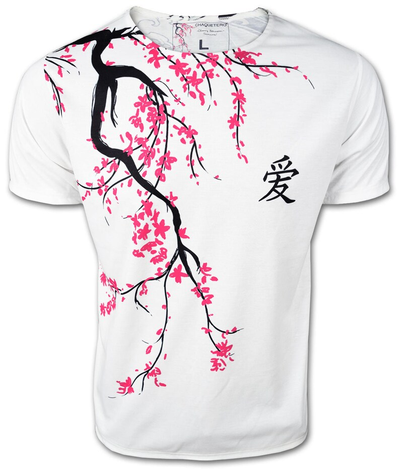 Beautiful Cherry Bloom T-Shirt Muscle Top Samurai Shorts Sleeve  Men/'s Body fit Tee Casual Holiday Fashion