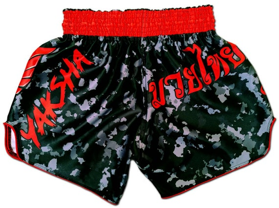 White Dragon MMA Boxing Shorts Training Pants Muay Thai Fighting Clothes 2 Color