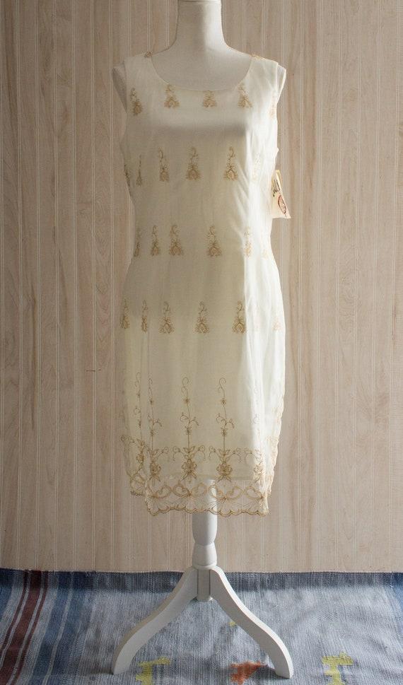 Vintage 1990s Mesh Dress
