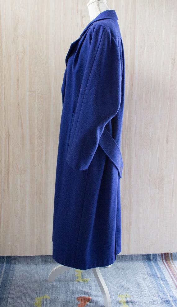 Vintage 1980s Maxi Wool Coat - image 3