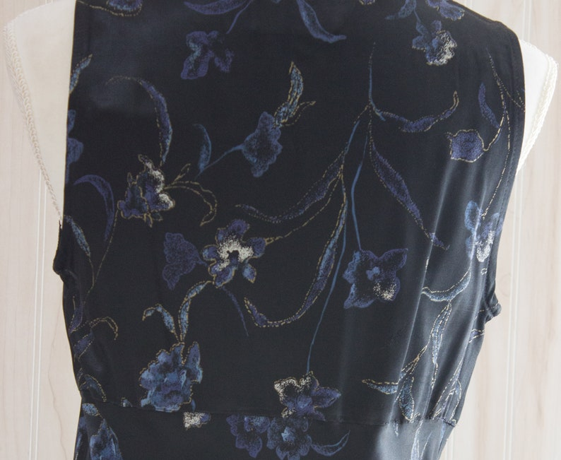 Vintage 1990s Satin Maxi Dress