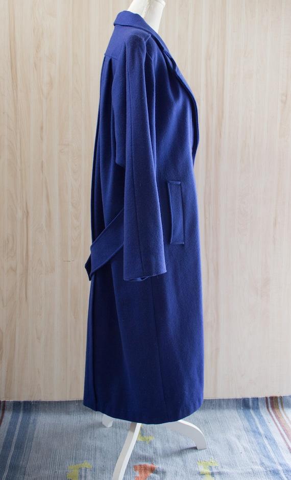 Vintage 1980s Maxi Wool Coat - image 5