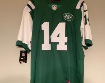 b5964fb82 Sam Darnold New York Jets Custom Football Jersey Home Mens Large
