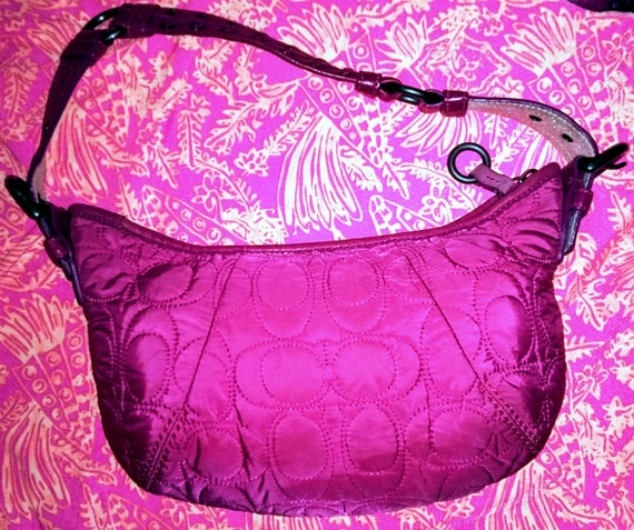 professional design colours and striking best deals on Supremely cute vintage hot pink coach purse