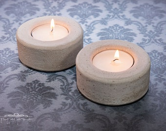 Tea light holder made of concrete | Tealight | Industrial | Candle | Gift | Decoration | Party | Home décor | Minimalist