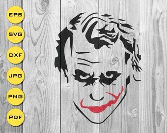 Joker Clipart Etsy