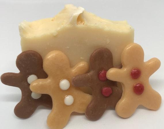 Gingerbread Man Embeds Female-Veteran Owned Company Handmade