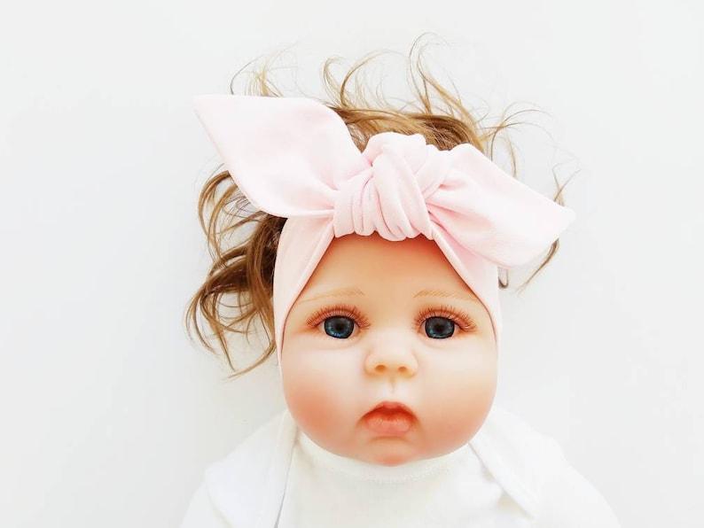 Adult Headband Headband for Girls and Women Baby Headband PINK Baby Shower Gift Handmade in UK Ladies Headband Girls Headwrap
