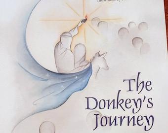 Christmas children's Book: The Donkey's Journey