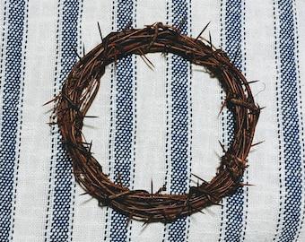 Lenten Crown of Thorns Wreath