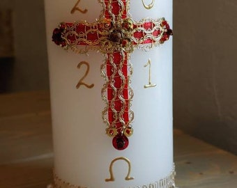 Paschal Candle Catholic Easter #2