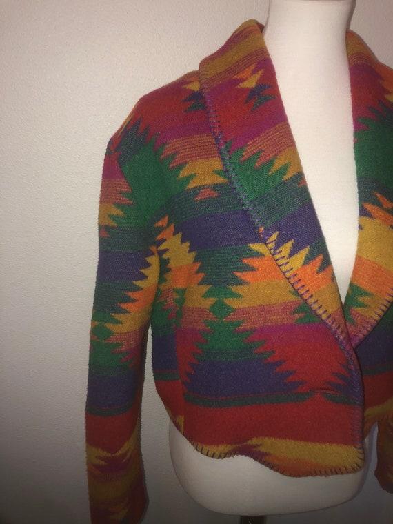 Vintage Rhonda Stark Aztec coat
