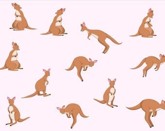 photograph relating to Kangaroo Printable known as Kangaroo printable Etsy