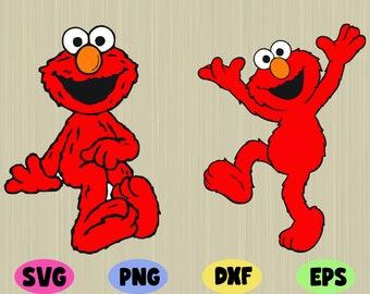 graphic regarding Elmo Printable titled Elmo printable Etsy