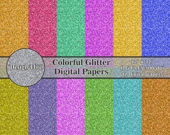 Sfondi Glitter Etsy