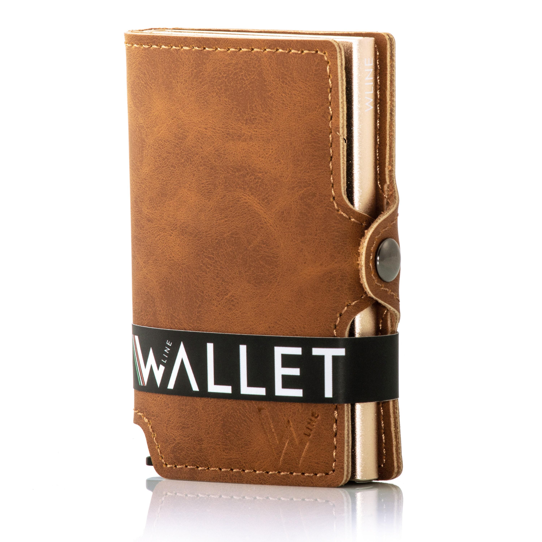 Porta Carte di Credito con Blocco RFID/NFC, Portafoglio Uomo Slim Porta Tessere Donna WLine
