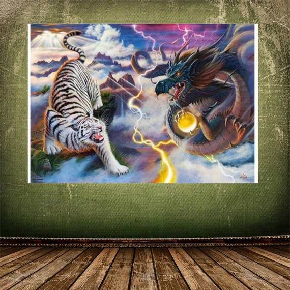 Home Decor 5D Painting Tiger Home Decorations