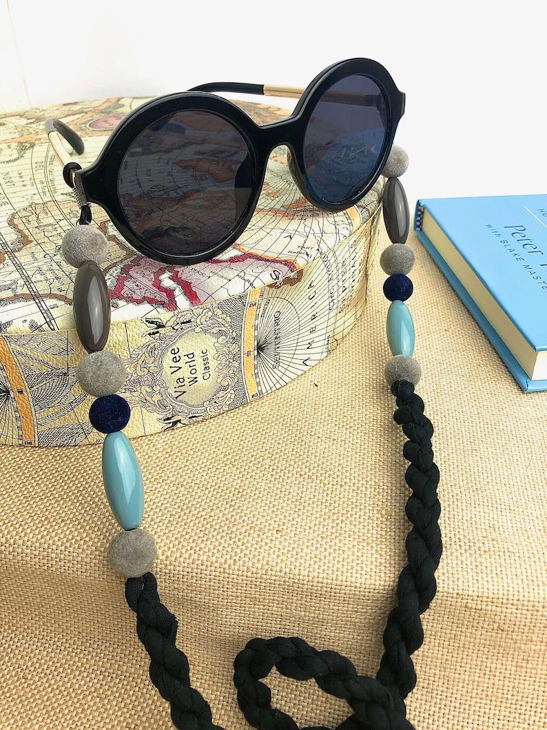 Gray Glasses Cord, Funny Glasses Chain, Velvet Glasses Cord, Gray Glasses Bras, 2020 Glasses Chain, Tirolinas