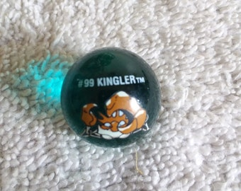 Pokemon marbles #88 Grimer holo foil metallic glass marble shooter in mint to mint plus condition