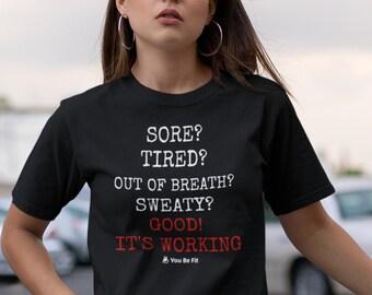 Motivation Short-Sleeve Unisex T-Shirt | Good! It's Working - blk
