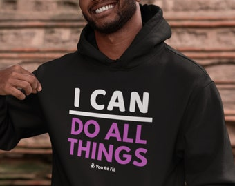Motivation - Champion Hoodie - I Can Do All Things