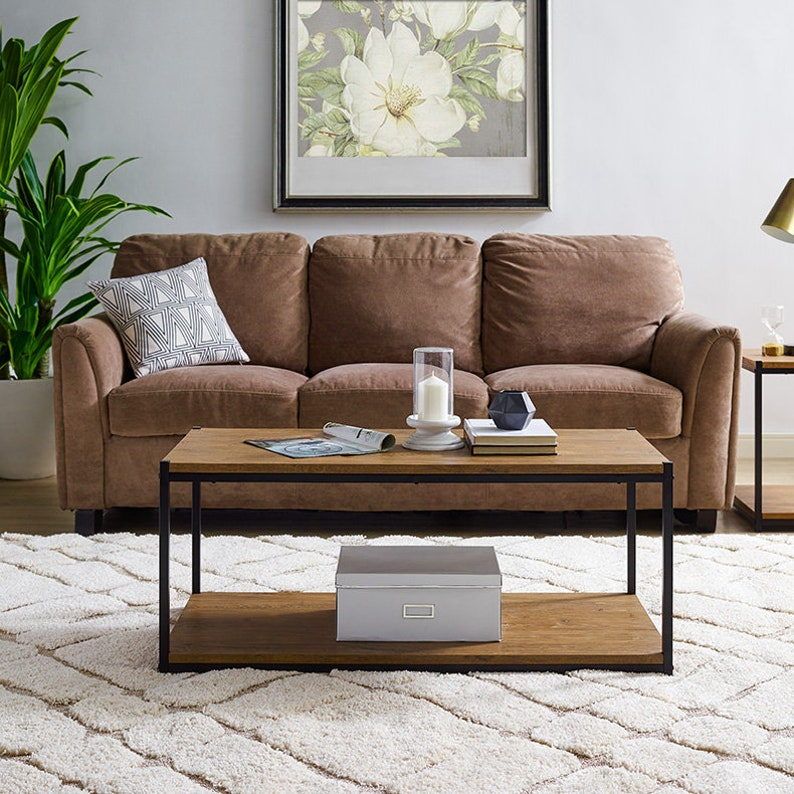Aaron Furniture Designs Tall Center Table Coffee Table W Etsy