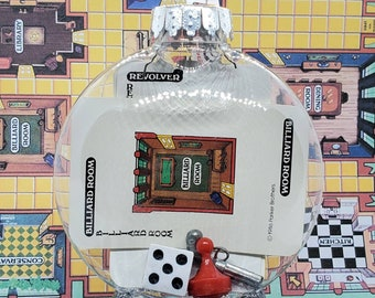 Classic Clue Cluedo Upcycled Game Piece Ornament (CUSTOMIZABLE) Parker Brothers Read Item Description