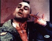 Robert Deniro Autographed Signed 8x10 Taxi Driver Photo with PSA COA