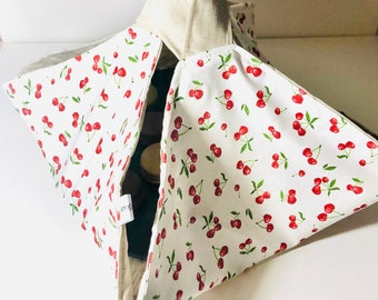 The Pie Bag: to carry cakes, pies, cakes and salad bowls...