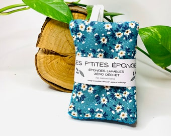 Les P'tites Éponges: batch of 5 sponges washable zero waste