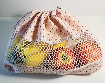 Bulk mesh bag: reusable bag for fruits and vegetables